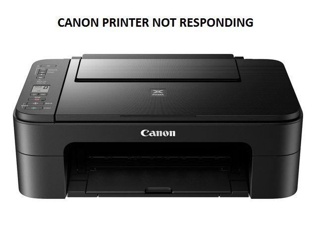 Canon printers no respod