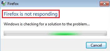 Firefox not working