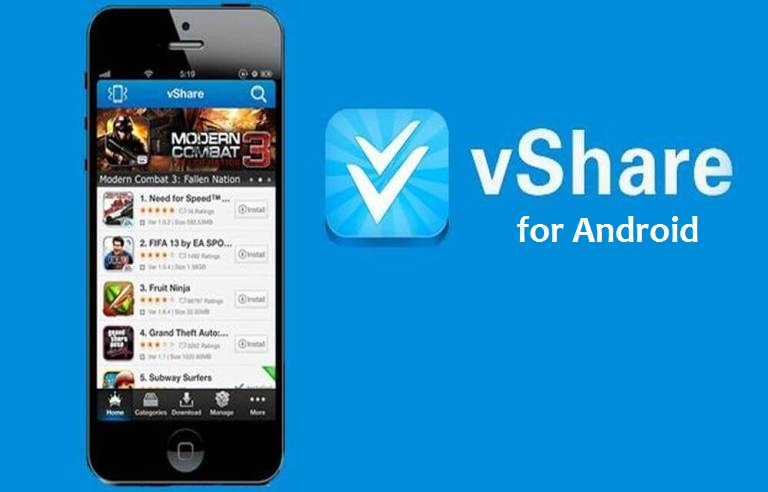 vShare Apk for android