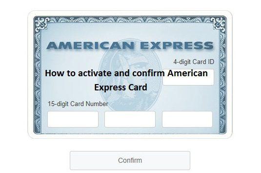 Americanexpress com confirmcard steps