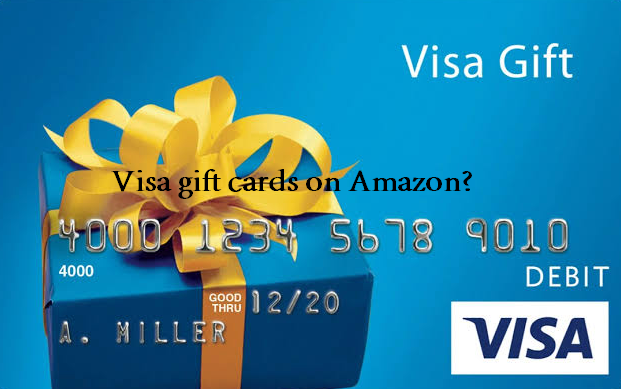 can you use visa gift cards on Amazon possible