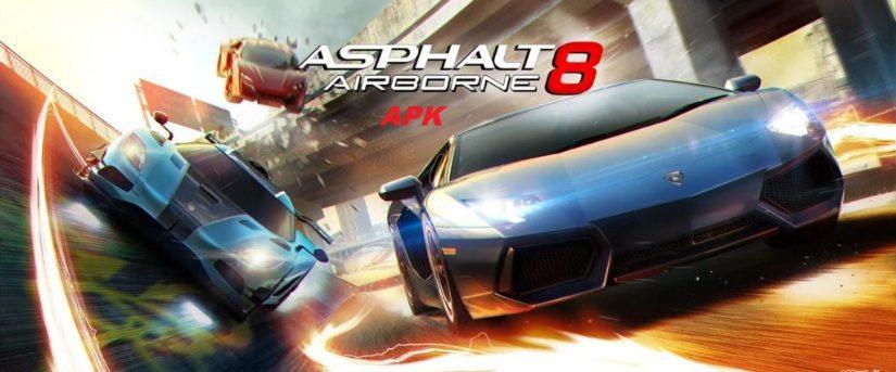 Asphalt 8 Airborne Mod APK 2021